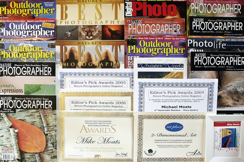 Some of my published works and awards