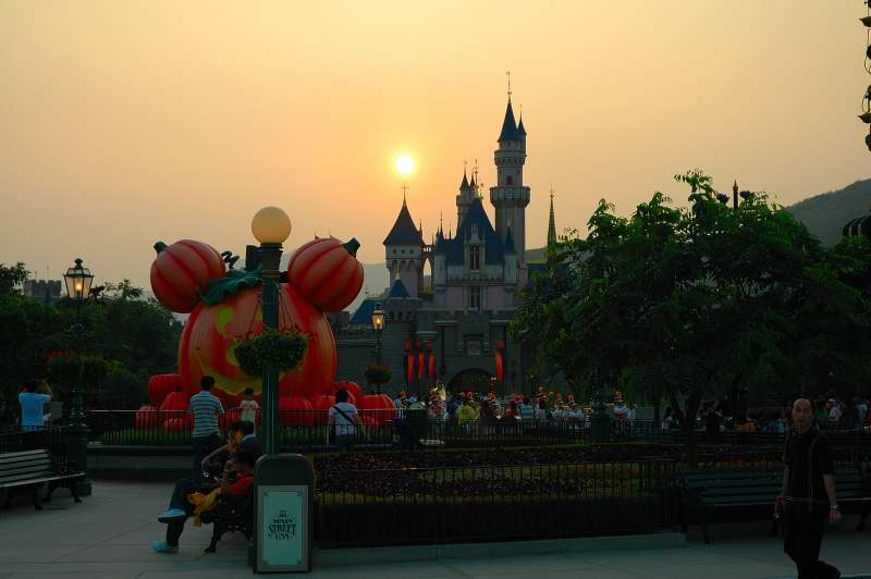 Magical Castle - Hong Kong Disney 2007