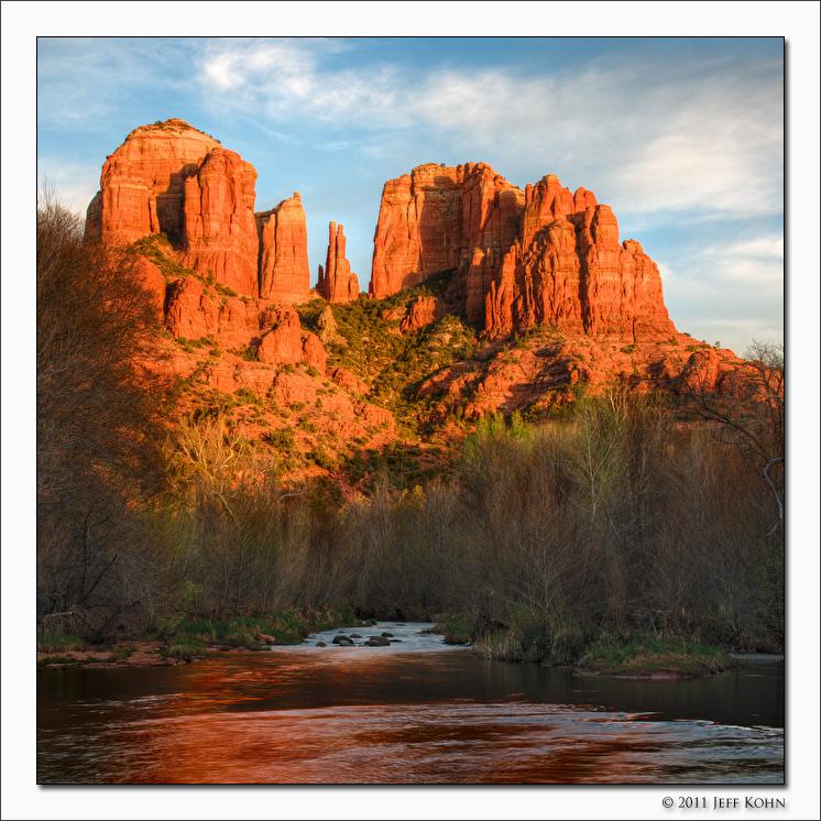 Cathedral Rocks, Sedona, Arizona, 2011