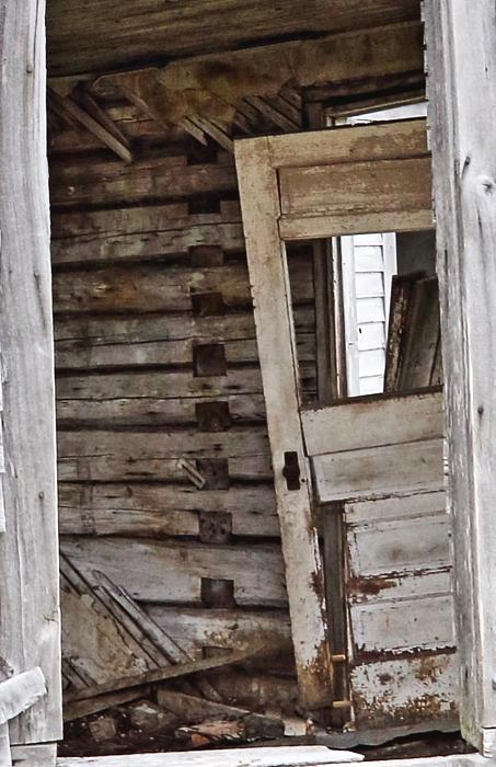 door through window