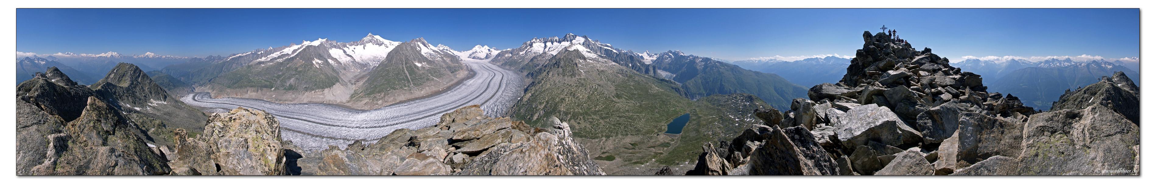 Aletschgletscher - Great Aletsch Glacier
