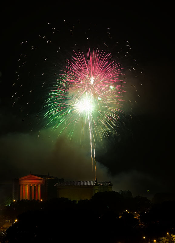 Philadelphia Fireworks!