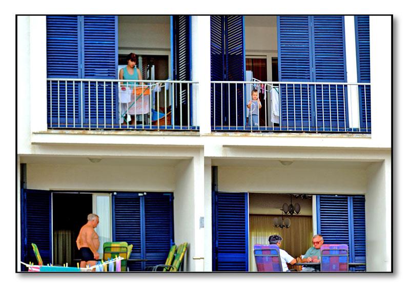 balcony life