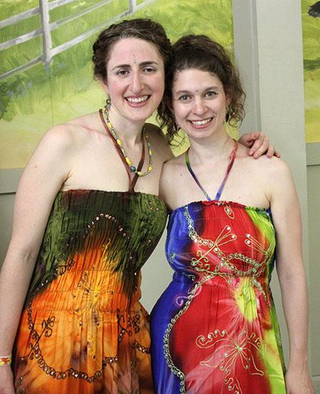 Ariella Kristol Forstein and Addie Lupert of Yeh Dede