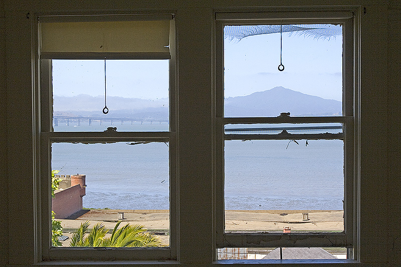 From bedroom of captains house 0498