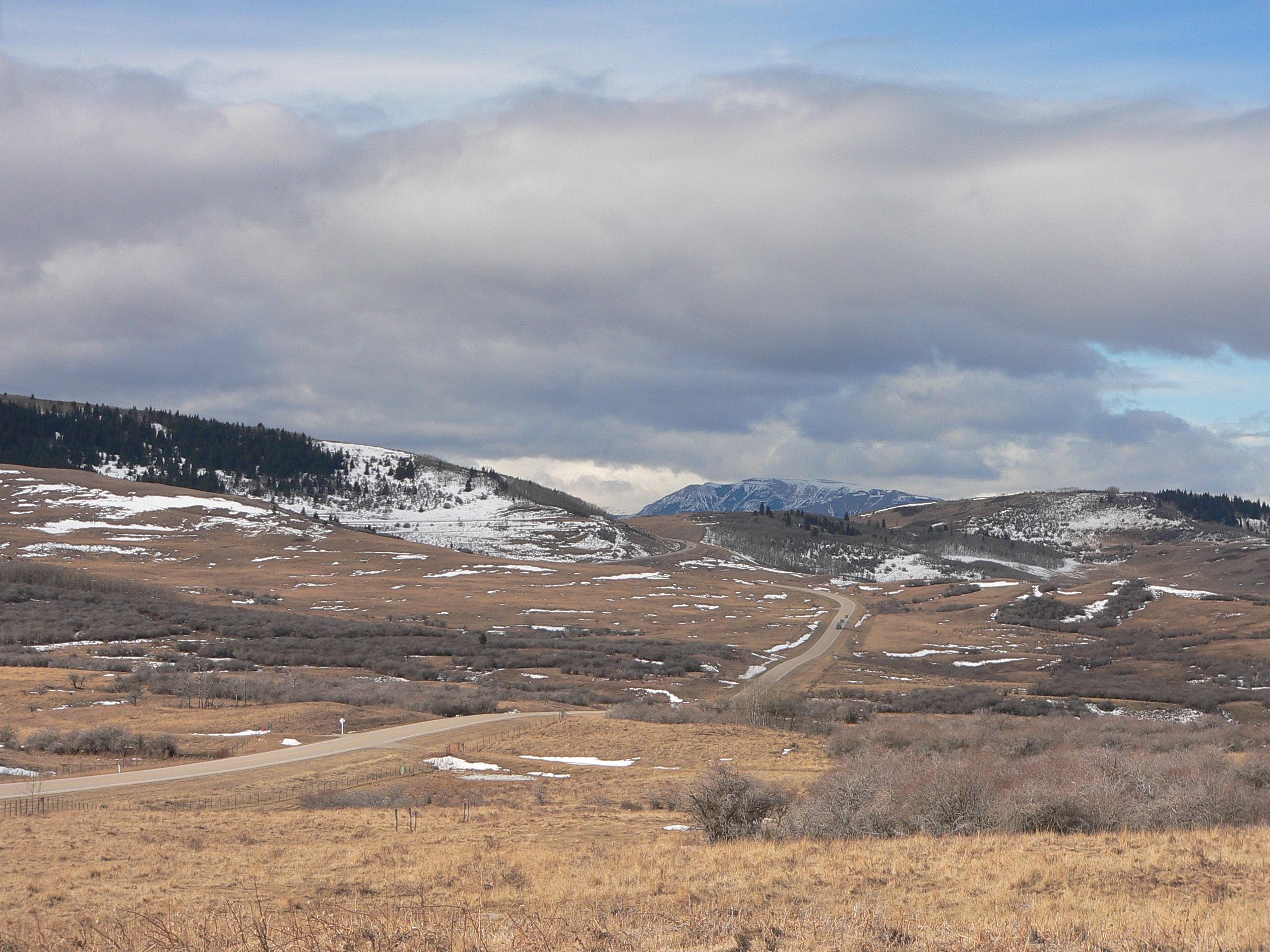 Nanton foothills.JPG
