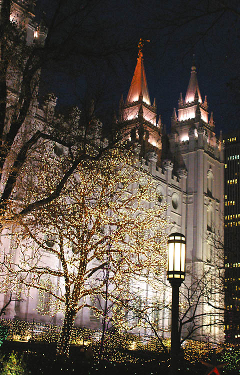 Salt Lake Temple - The Church of Jesus Christ of Latter-Day Saints