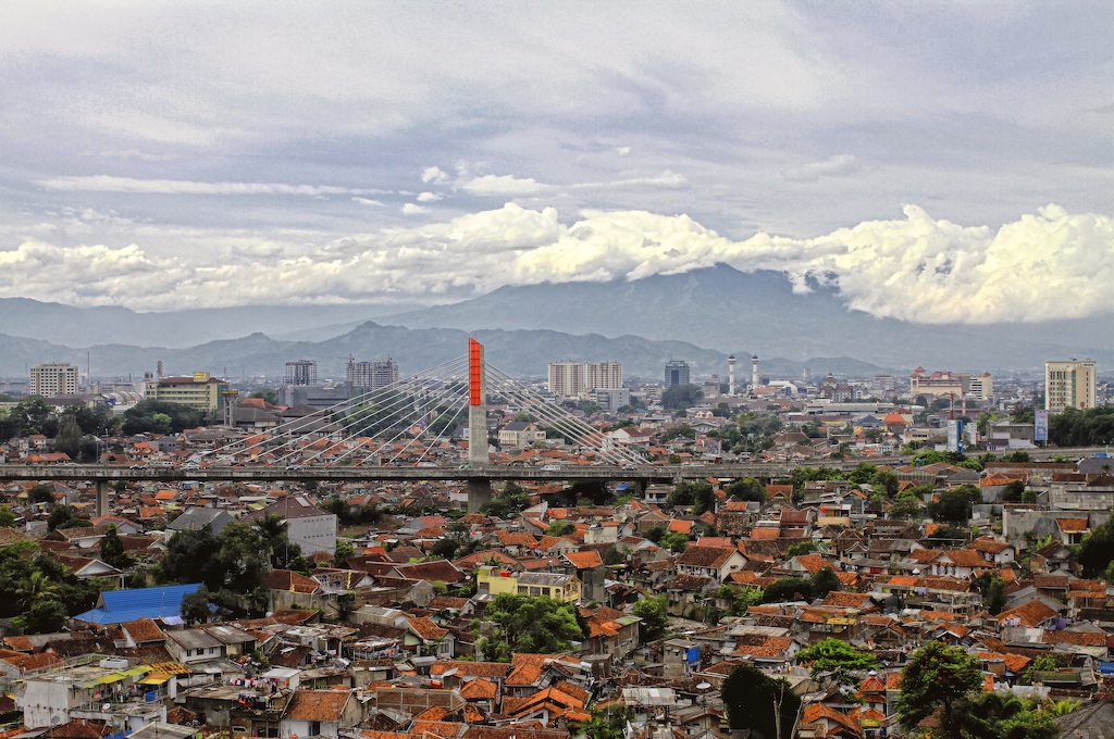 Bandung view from Cihampelas