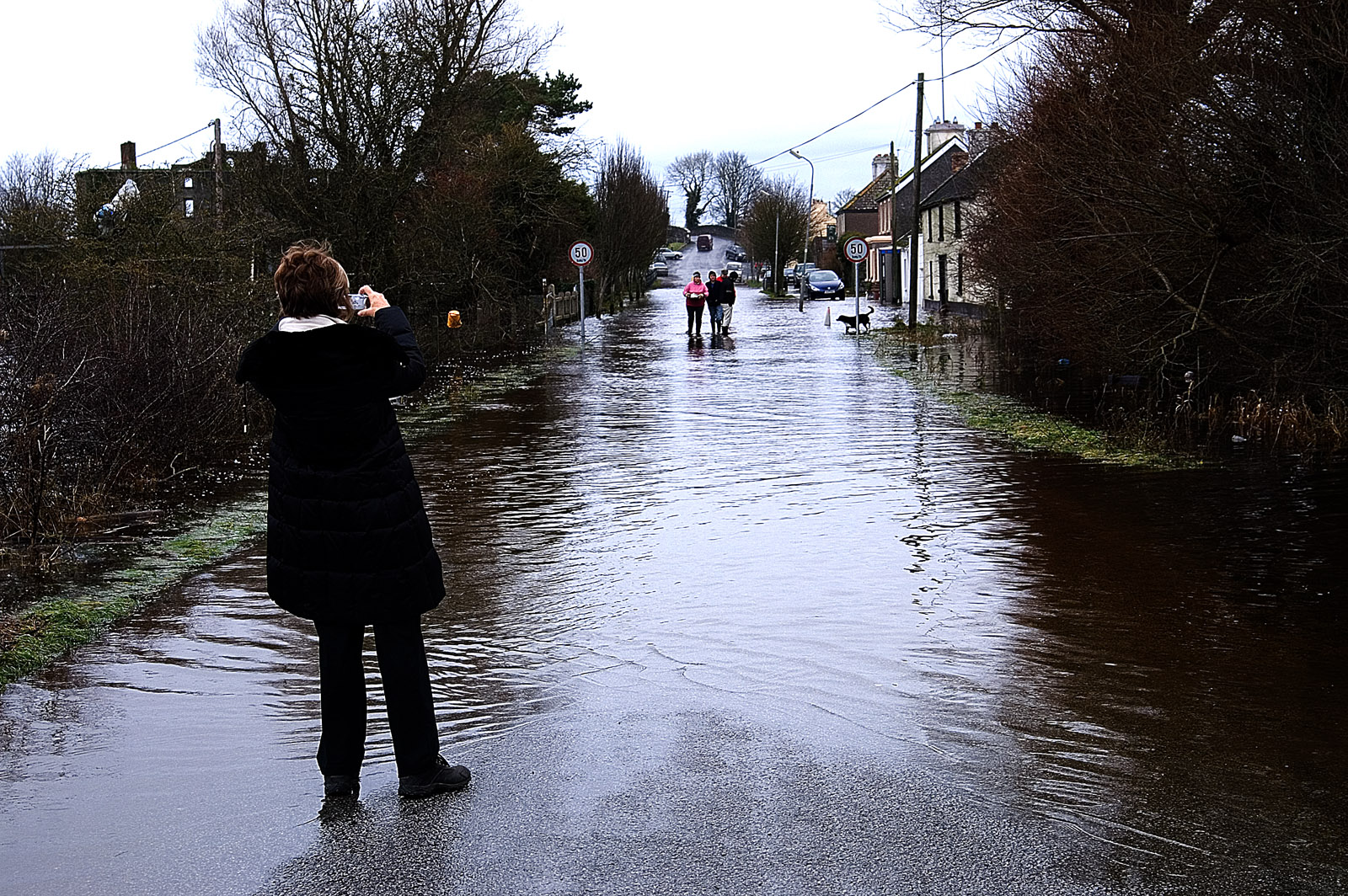Flooding at Shannon Harbour