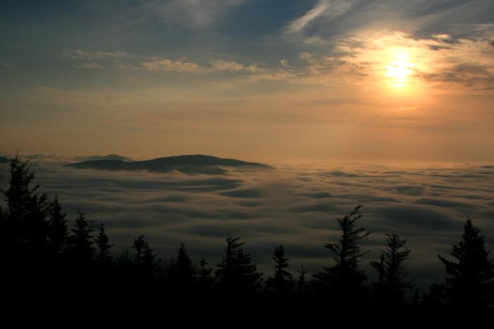 Sunrise on Eastman Mtn.