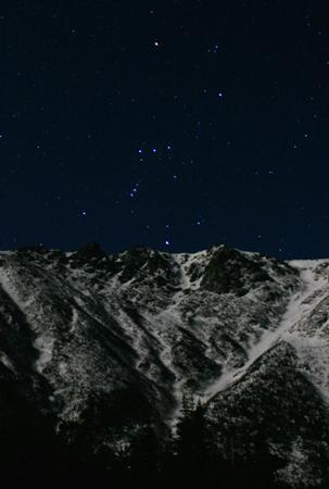 Orion over Tuckerman Ravine (a)