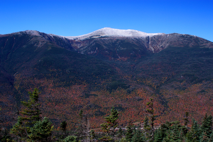 First Snow on Mt. Washington