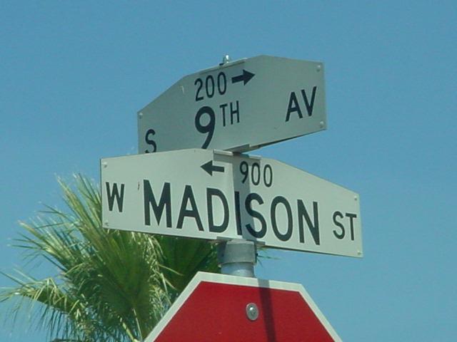 9th Avenue & W Madison