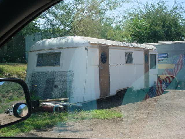 old trailer