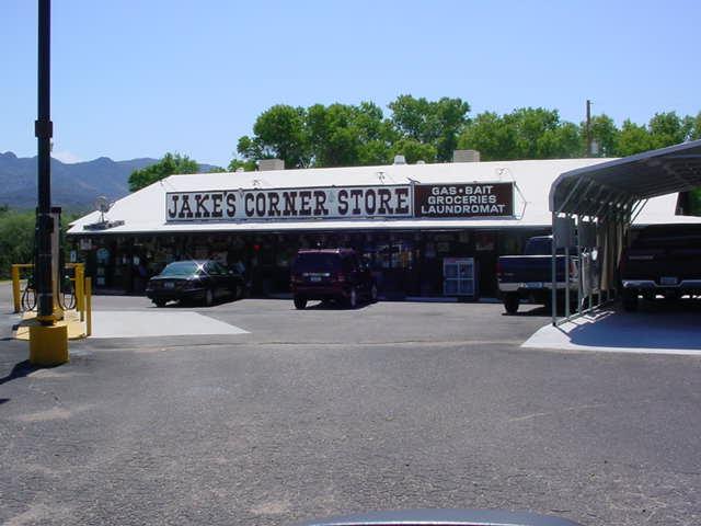 Jakes Corner store