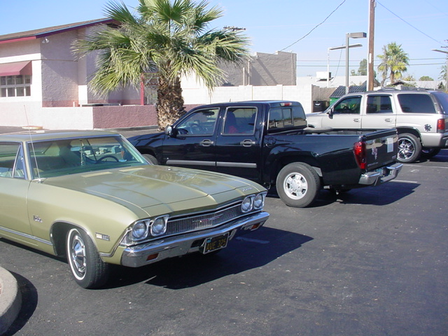 1968 Chevelle and 2008 Canyon