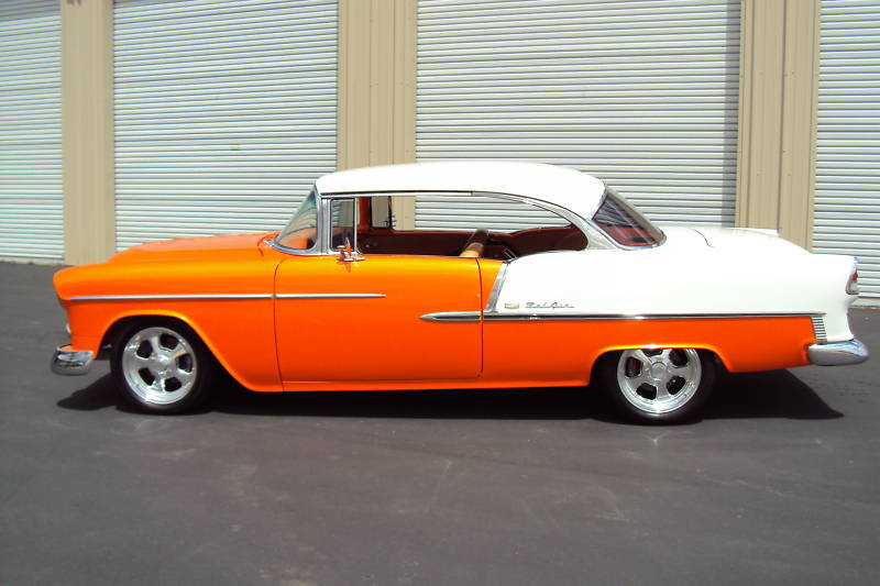 1955 Chevy two tone