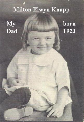 Melton Elwyn Knapp born 1923