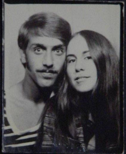 Jeff and girlfriend <br>Chris Canestro 1970