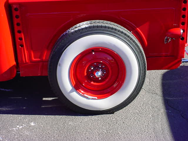 1940 Ford truck wheel