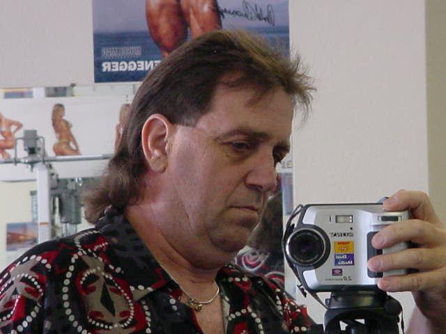 Jeff getting the Mullett photo
