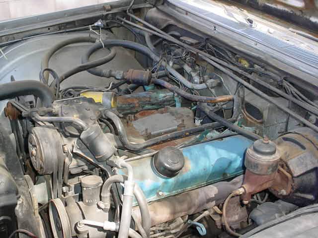 top of motor left