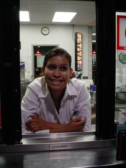Karla at Jack in the Box
