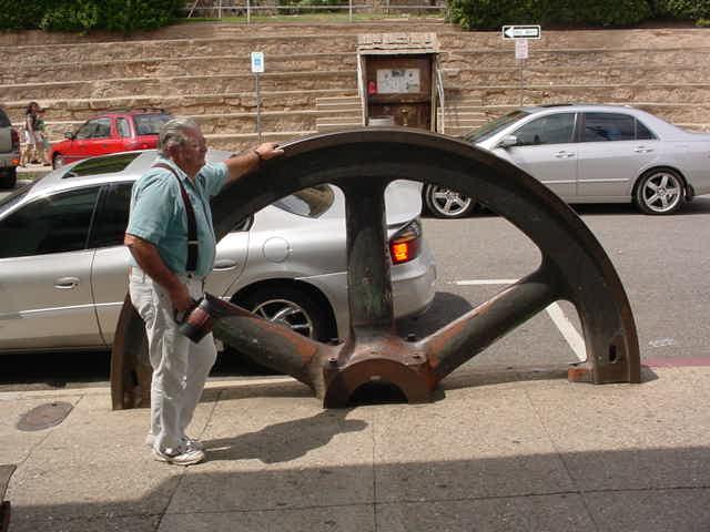 Rick mining wheel