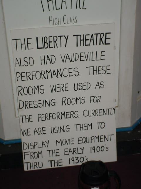 the liberty theater