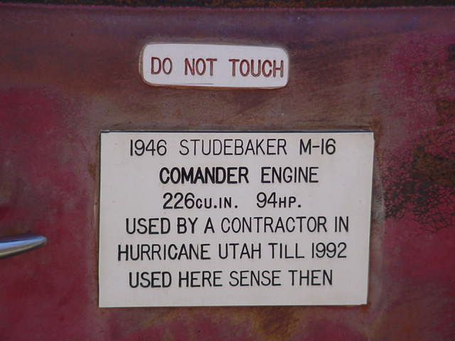 1946 Studebaker text