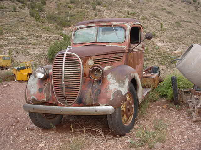 older tow truck?