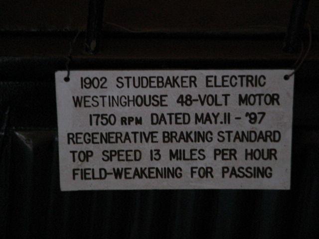 1902 Studebaker Electric