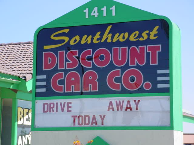 Southwest Disc. Car<br>Company 480-733-8400
