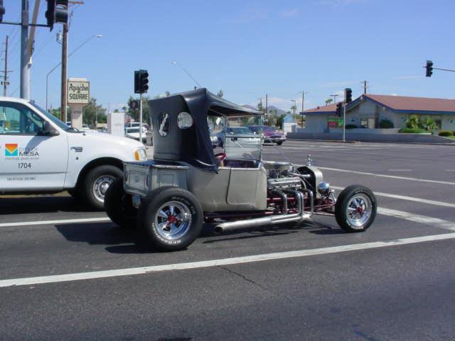 T Bucket roadster in Mesa