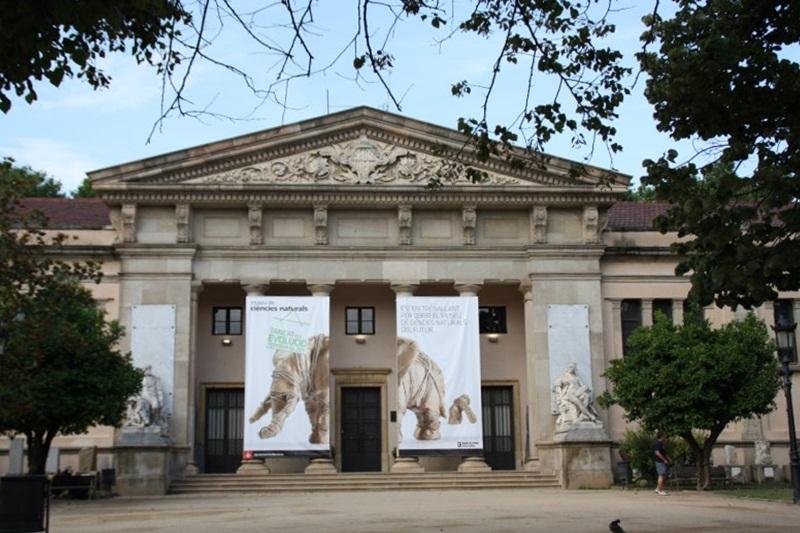 Museu de Ciències Naturals. Parc de la Ciutadella