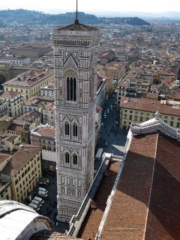 Firenze. Vista desde la Cúpula del Duomo.View from the top of the Duomo´s Dome