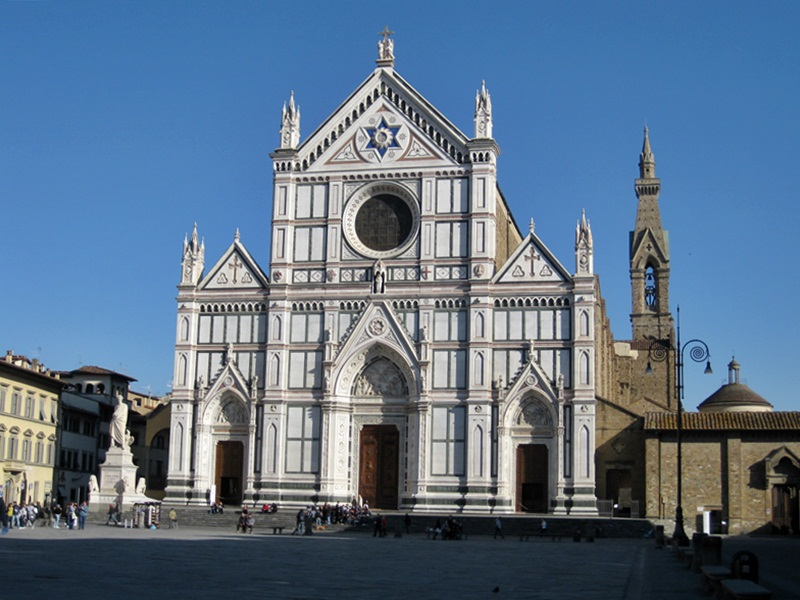 Firenze. Basilica di Santa Croce
