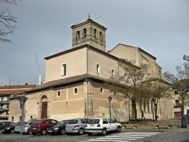 Segovia. Iglesia del Salvador
