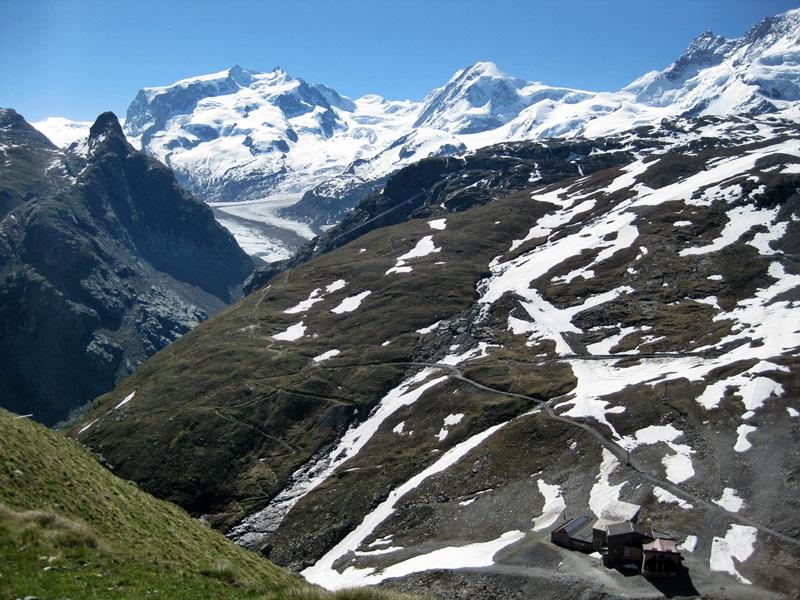 Zermatt. View from the Trockener Steg