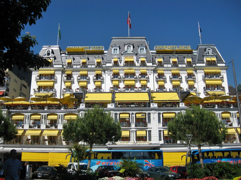 Montreux Grand Hotel Suisse