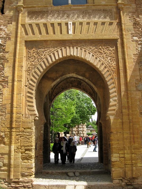 Alhambra de Granada. Puerta de la Justicia
