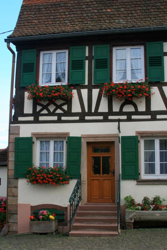 Westhoffen-  maison fleurie.