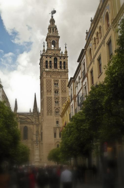 La Giralda,  Cathedral of Sevilla