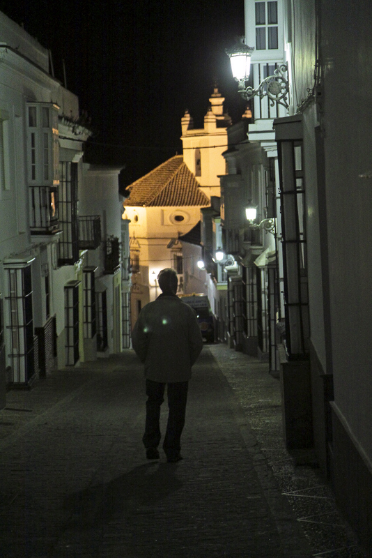 Medina Sidonia by night