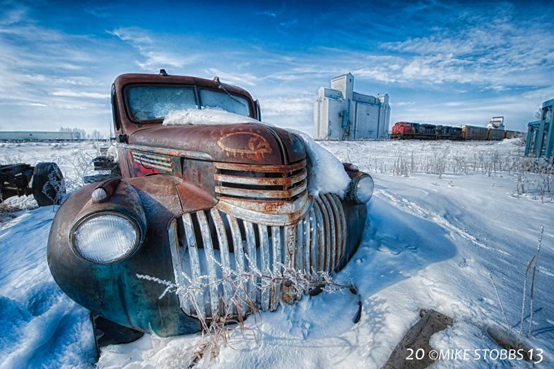 Truck, Grain, Train