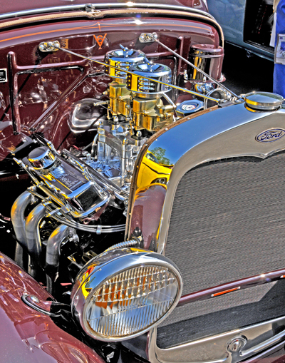 Ford 1931 V6 Engine
