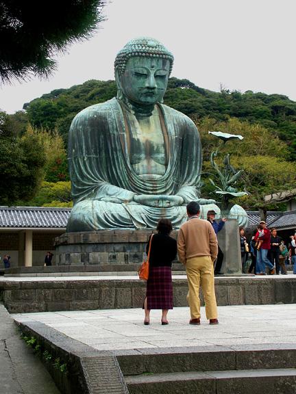 Daibutsu Bronze Buddha, Kamakura
