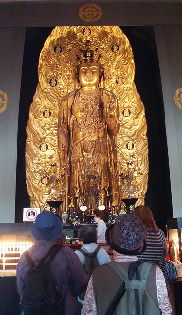 Largest Wooden Statue of Buddha, Hasedera Temple