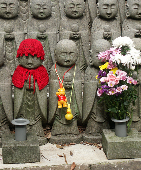 Child Statues of Buddha, Hasedera Temple