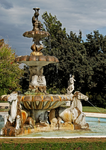 Lovely fountain.